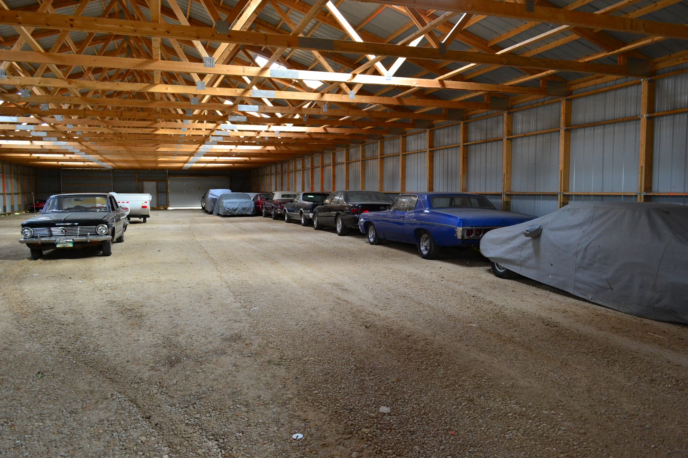 Unheated Indoor Car Storage