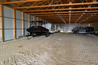 Unheated Storage Building #2 - Car Storage, Boats and Campers